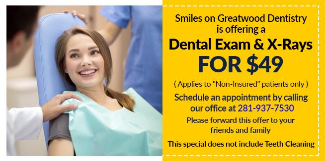 Dental Exams X-ray Promo
