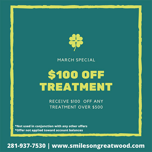 Smiles on Greatwood - March Promo